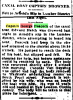 1905 Nov 14 - Canal Boat Captain Drowned
