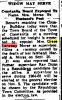 1963 Sept 26 - Widow May Serve